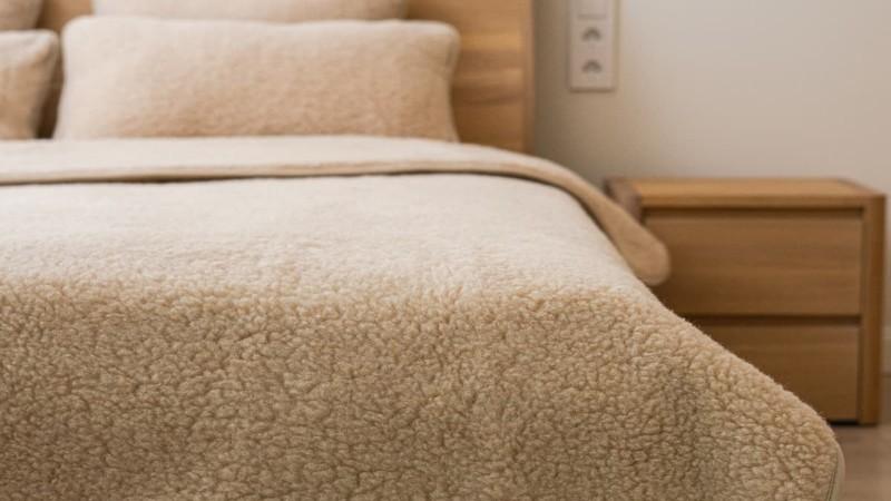 Pătură dublă Nut N4 din lână